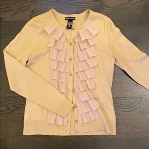 New York & Company beige cardigan, S, worn once